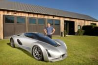 Blade, the first 3D printed supercar