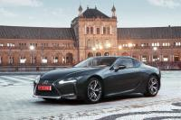 The Lexus LC: A dynamic luxury coupe in every aspect