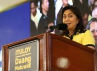 Leni: I didn't join Liberal Party for money