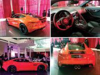 Jaguar unleashes sexy, new F-Type Coupé