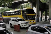 DOTr rolls out new double decker P2P buses for passengers affected by 'no window hours' policy