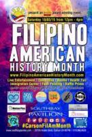 FilAm History Month Kicks Off Oct 3 at South Bay Pavilion