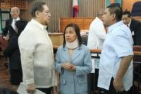 GMA co-accused in plunder case enters 'not guilty' plea