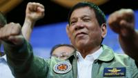On his first 100 days, Duterte dares US: 'Go ahead, oust me'