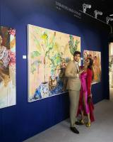 Paintings of Filipina actress showcased at Miami Art Exhibit