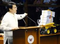 Revilla's 'toy truck' gimmick an insult to NBI, DOJ – Justice chief